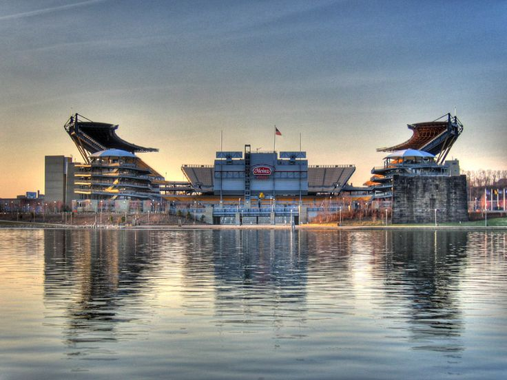 Heinz Field is the home of the Pittsburgh Steelers and is located in Pittsburgh Pennsylvania along the Ohio River in North Pittsburgh.