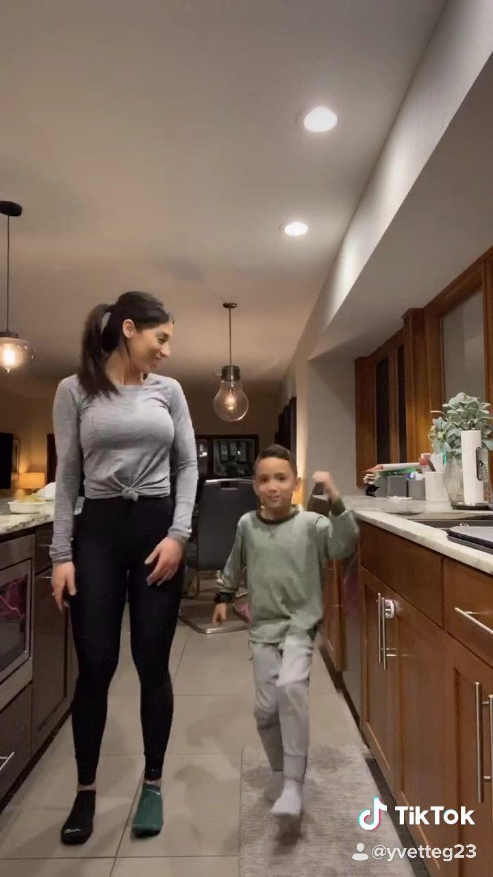 Mother And Son Tiktok Dance Video Dance Moms Videos Dance Music Videos Cool Dance Moves