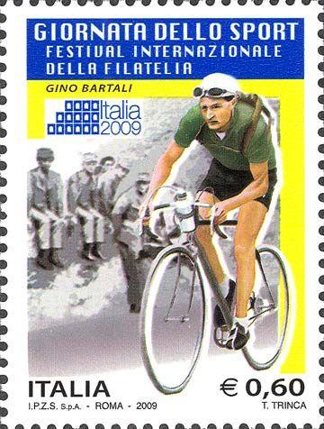 Italia 2009 - giornata dello sport  - Gino Bartali