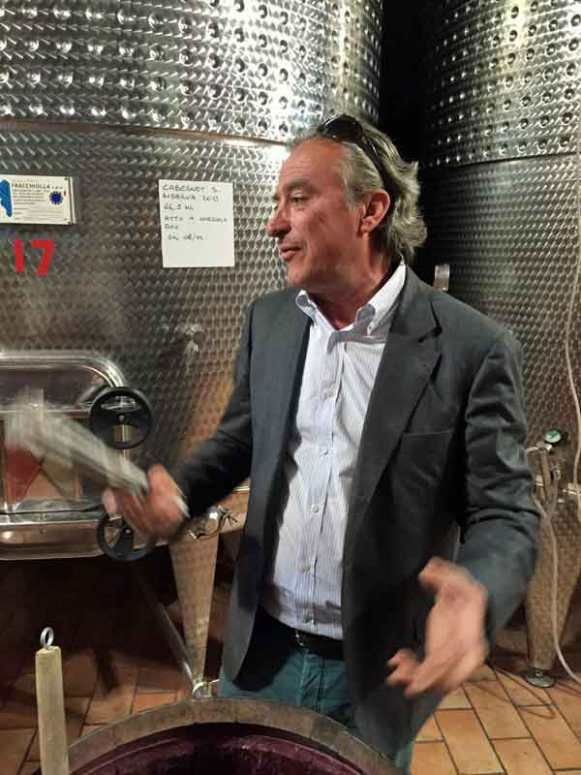 Ricardo Baracchi is a passionate wine maker with several wines scoring 90+ on winespectator.com.
