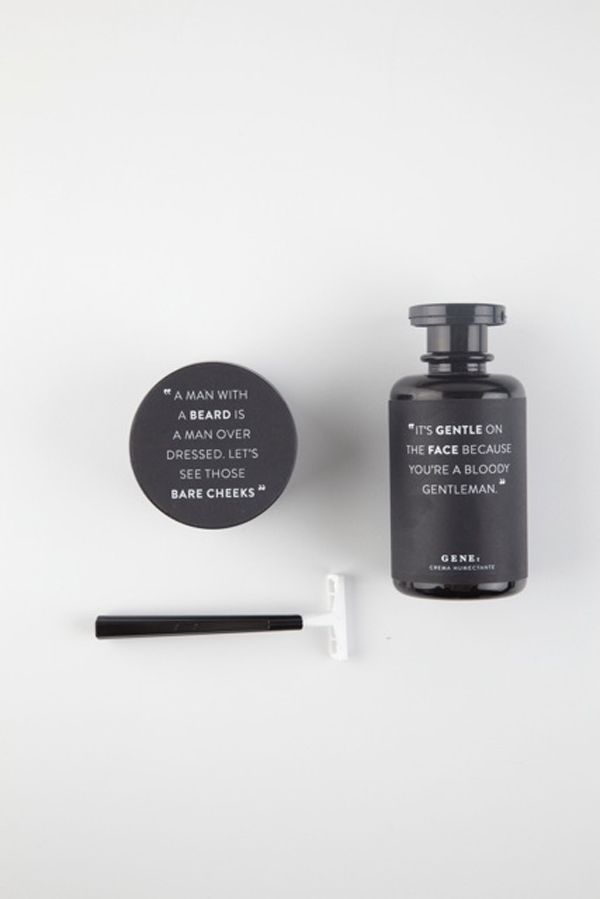 Packaging of the World: Creative Package Design Archive and Gallery: Gene (I adore the text more than the design itself!)
