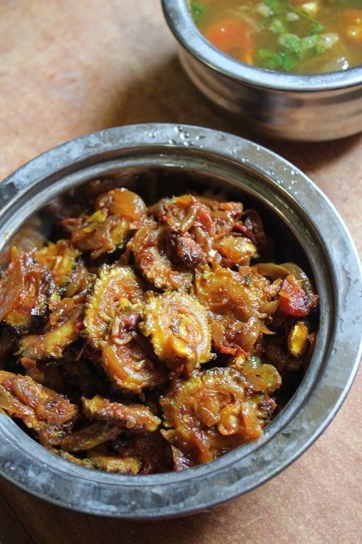 YUMMY TUMMY: Pavakkai Masala Recipe / Bitter Gourd Masala / Karela Recipes