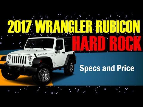 2017 Wrangler Rubicon Hard Rock Transmission, Interior and Exterior Expl...