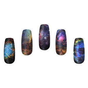 Geeky Nebula Nail Wraps