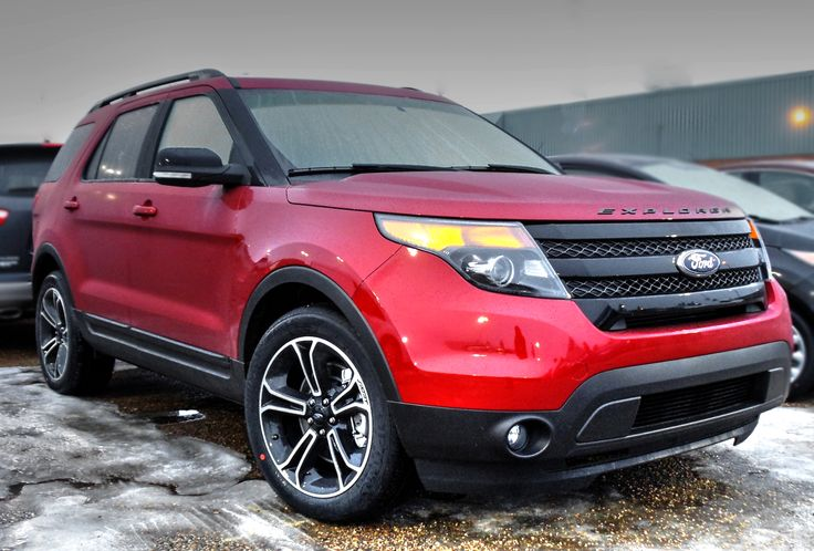 2015 #Ford Explorer Sport in Ruby Red Metallic Tinted Clearcoat