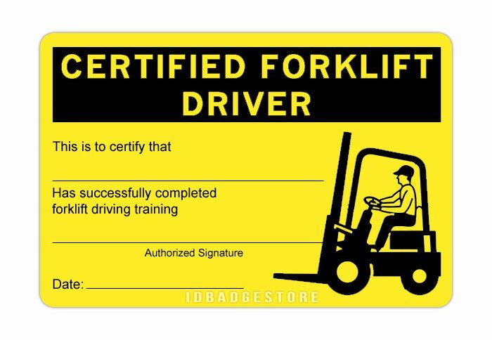Forklift Certification Card Template Free Best Of 3 Pre Printed Cert Card Templates Free Certificate Of Achievement Template Certificate Of Completion Template