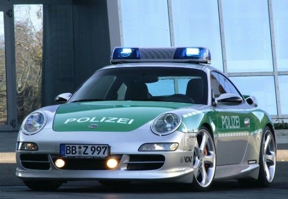 Полицейские машины мира: Германия