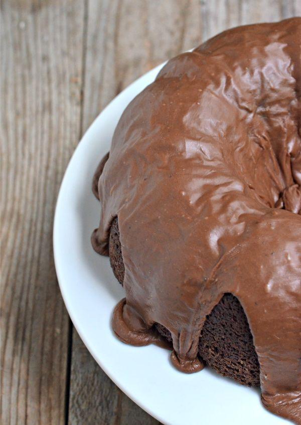 Chocolate Zucchini Bundt Cake