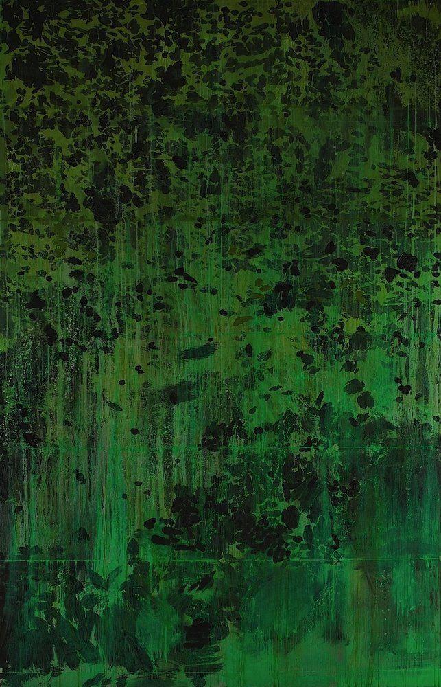 social claustrophobia: thunderstruck9: Hurvin Anderson (British, b, 1965), Northern Range, 2010. Oil on canvas.