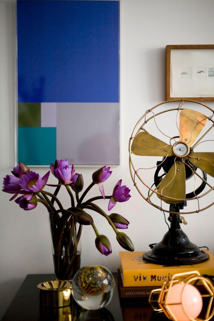 Blue velvet ad espa a marco antonio sobre la mesa - Objetos decorativos vintage ...