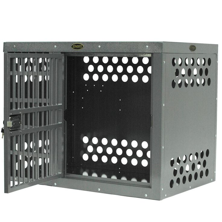 Heavy Duty Dog Crate Zinger Side Entry Aluminum
