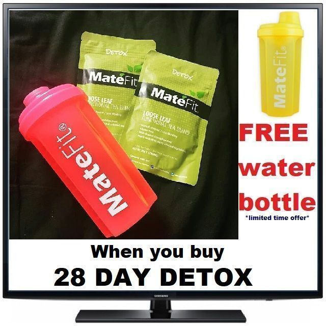 #Detox #DetoxTea #MateFit Detox vs Cleanse - juice cleanses, sugar cleanses, and detox diets 28 Day Detox ✓70 grams Free Shipping in the US. Help in fat burn, metabolism, weight loss, Boosts metabolism, Flushes away unwanted pounds, Reduces puffiness and bloating, get flattered stomach, Clean Colon. Get lean and skinny body with Mate Fit Tea