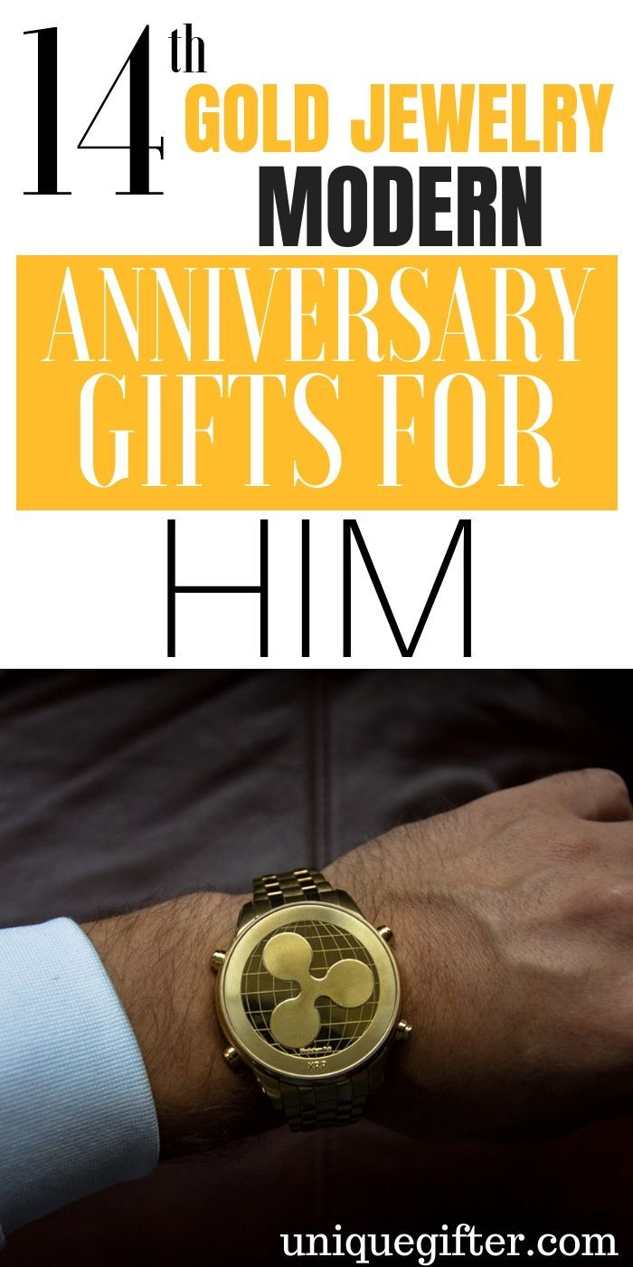 20 14th Gold Jewelry Modern Anniversary Gifts For Him Birthday