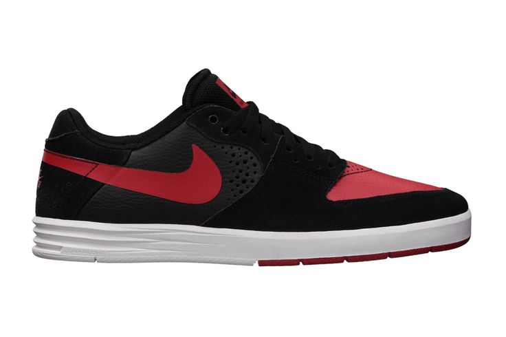 Nike SB Paul Rodriguez 7 Black University Red-White f49c65b8b0e