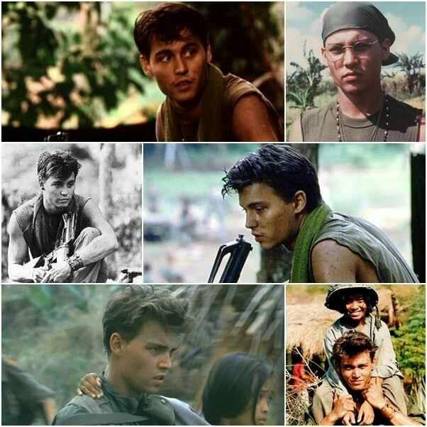 Johnny Depp. Platoon