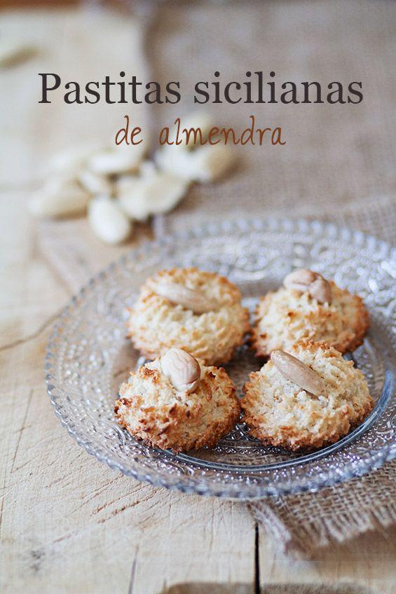 Sicilian Almond Pastries recipe - pastitas sicilianas de almendra