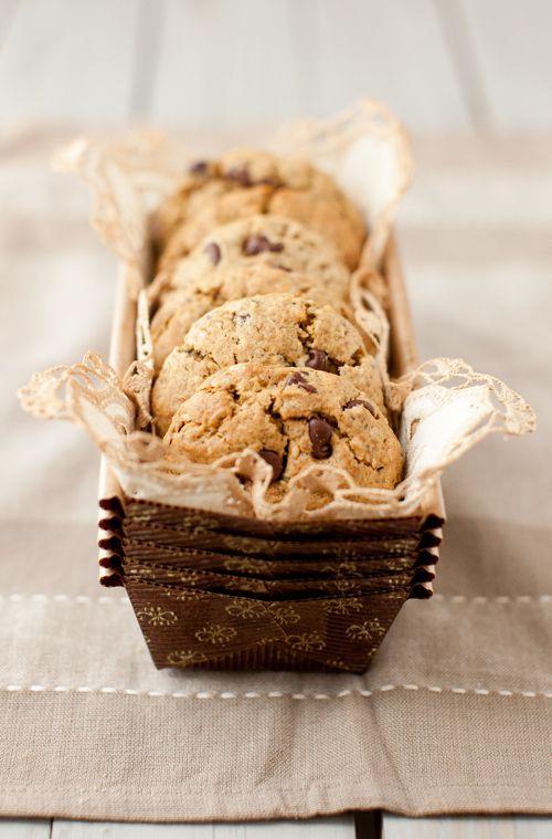 Oatmeal Chocolate Chip Cookies with Flax, Chia and Hemp Seeds