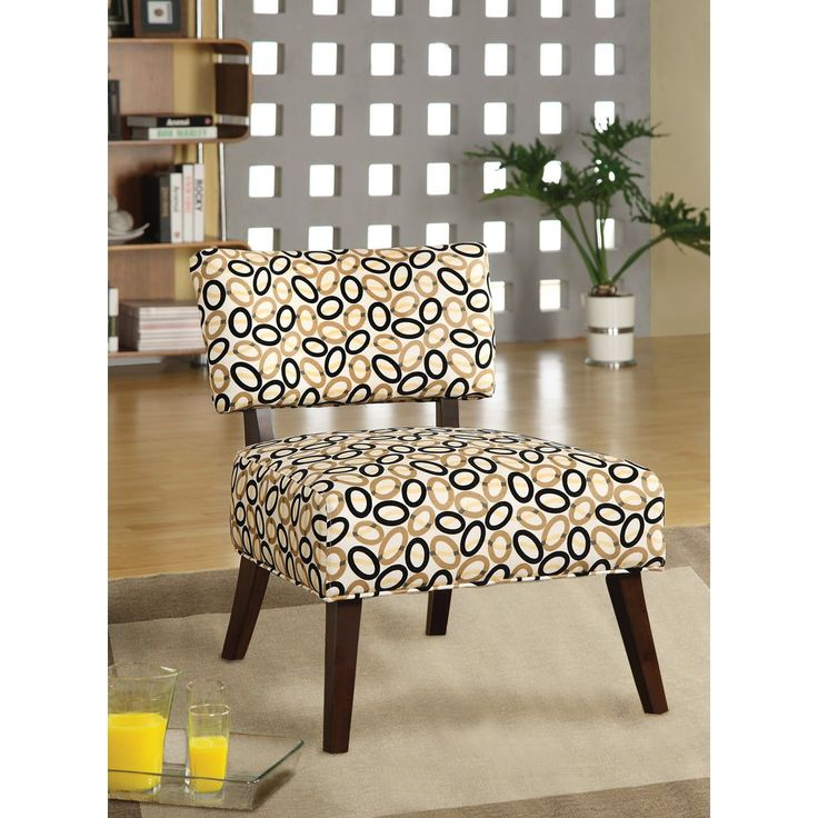 Acme Able Upholstered Accent Chair, Brown (Fabric). Upholstered Accent  ChairsAccent FurnitureLiving Room ... - 25+ Best Ideas About Upholstered Accent Chairs On Pinterest