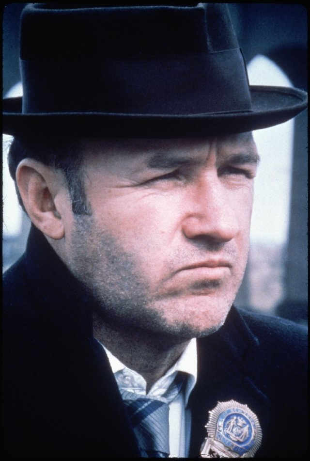 """Gene Hackman in """"The French Connection"""" (1971)"""