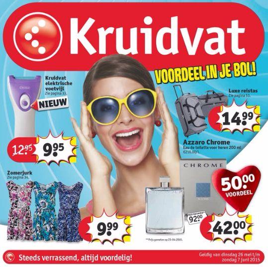 #Kruidvat 26/05/'15 t.e.m. 07/06/'15
