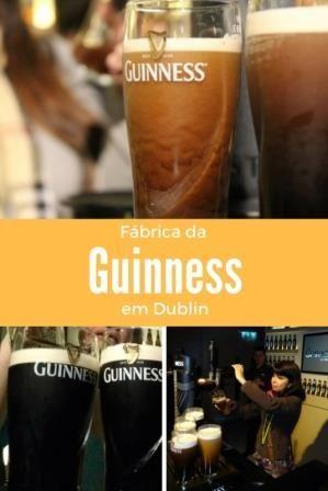 Fábrica da Guinness em Dublin Cerveja, rota cervejeira, a mais famosa cerveja da Irlanda