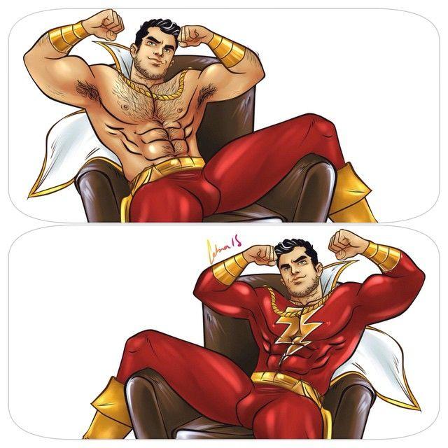 from Kolten gay superhero muscle video