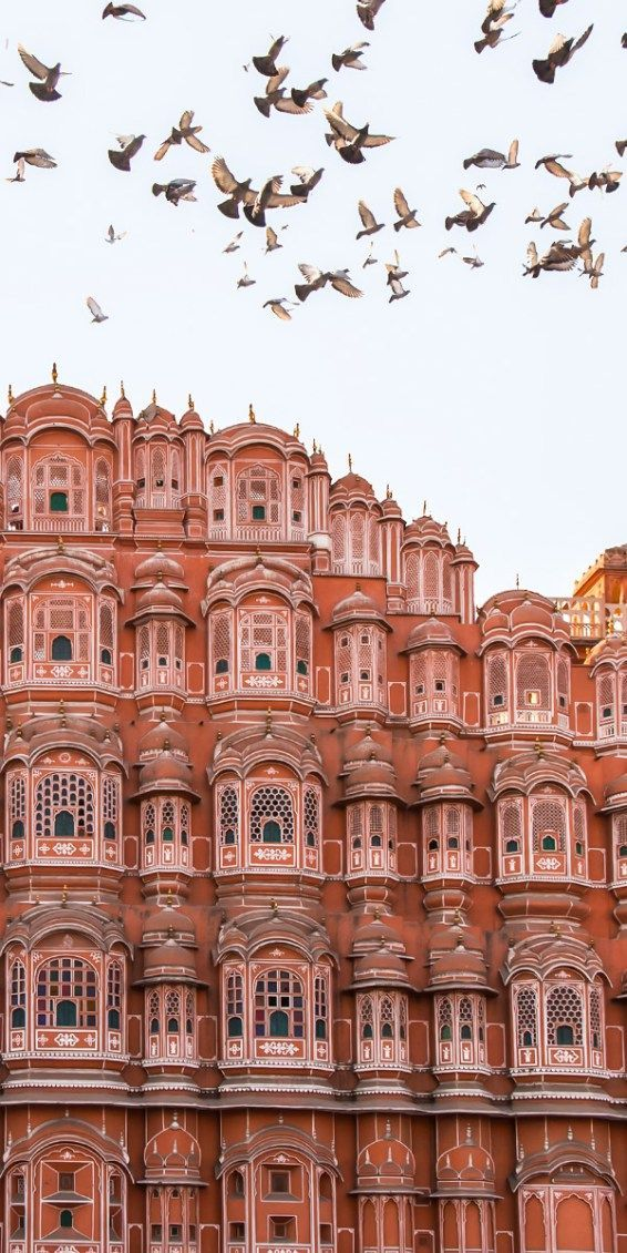 Hawa Mahal, Jaipur, India                                                                                                                                                     More