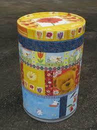Resultado de imagem para como pintar tambor de papelao