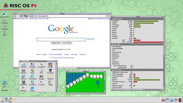 Alternatives RasPi-Betriebssystem RISCOS » Raspberry Pi Geek