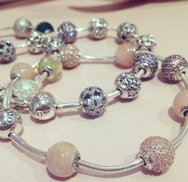 Pandora essence bracelets and Charms