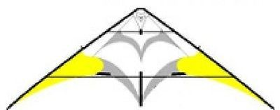 Kites 2569: Silver Fox 2.3 Ul--Yellow-- Stunt Kite--By Flying Wings -> BUY IT NOW ONLY: $94.87 on eBay!
