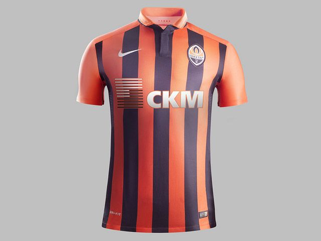 Camisas do Shaktar Donetsk 2015-2016 Nike kit