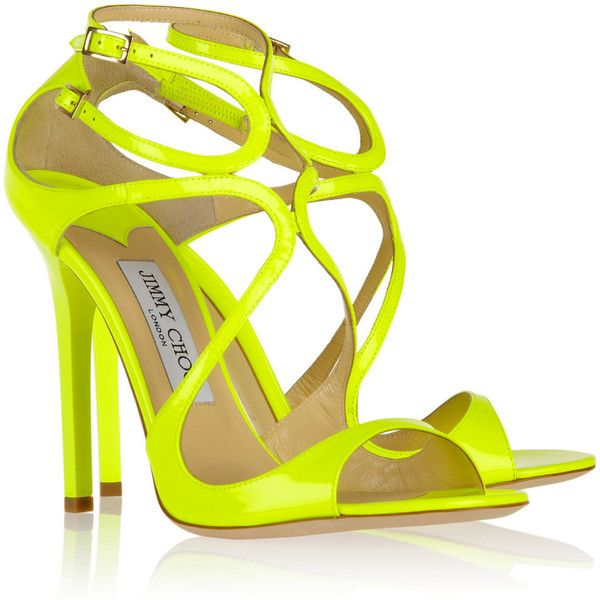 17 Best ideas about Yellow Strappy High Heels on Pinterest ...
