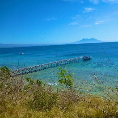 Dermaga Menjangan, Bali, Indonésie.