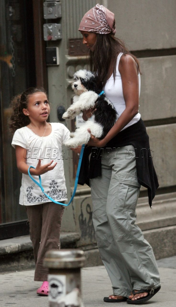 Iman and her daughter Alexandria: David Bowie and Iman's daughter