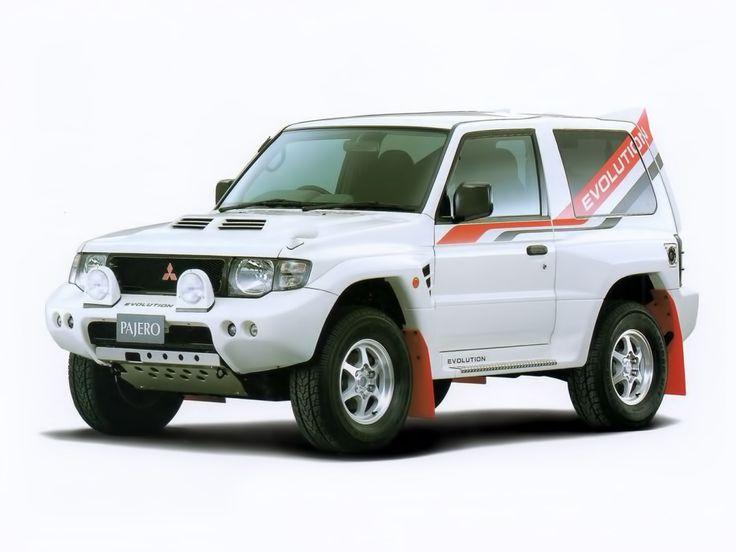 Mitsubishi Pajero Evolution (V55W) '1997–99