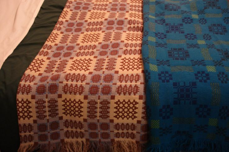 Welsh Quilts: Gregynog nr Newtown, Wales