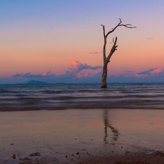 Sunset - Shoal Point Beach, Mackay  Photo by @garry_norris http://blog.queensland.com/2014/10/09/queensland-instameet-stunning-sunsets-dazzling-stars/ #thisisqueensland