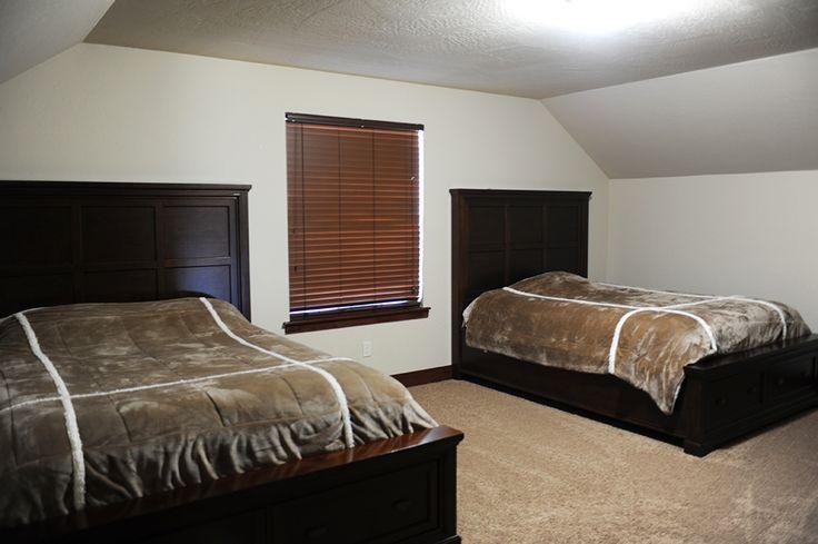 Radiant Lake upper bedroom - #monogramhomes