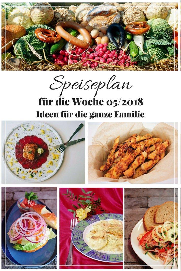 Keine Idee was du kochen könntest? Bei mir findest du jeden Freiteag einen neuen Wochenplan, denn du übernehmen oder als Inspiration für deinen Speiseplan nutzen kannst. Hier ist der aktuelle Wochenplan für die Woche 05/2018.