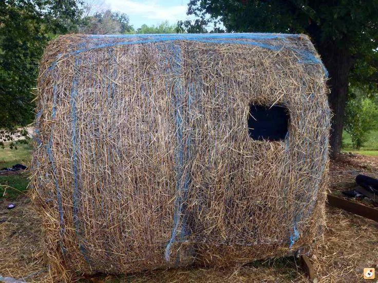 Hay Bale Blind Deer Hunting Blinds Hunting Blinds