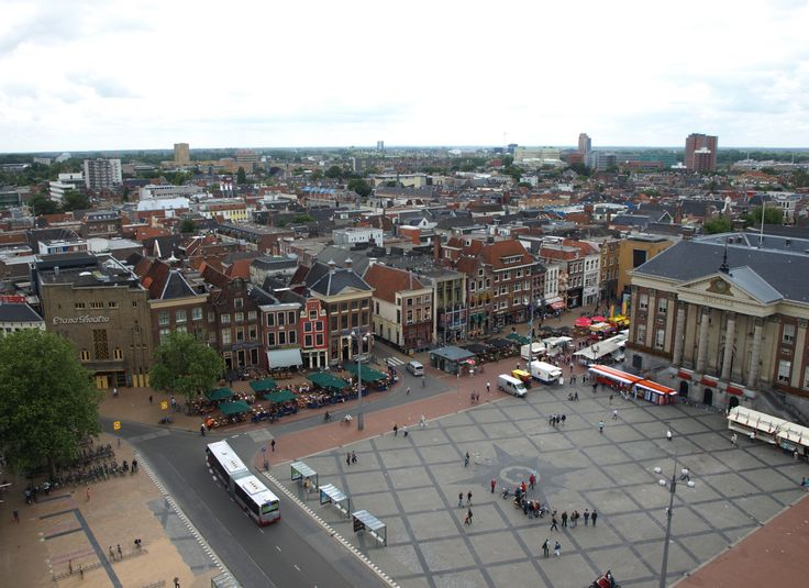 Grote Markt (Marketplace) in the centre of Groningen.