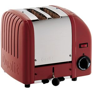 Dualit Vario Toaster, 2-Slice, Red Designed for heavy duty use, this tough toaster can generate toast at a rate of up to 65 slices per hour - as well as waffles, bagels and tea cakes. With pull-out crumb tray and hi-lift lever. Optiona http://www.comparestoreprices.co.uk/other-products/dualit-vario-toaster-2-slice-red.asp