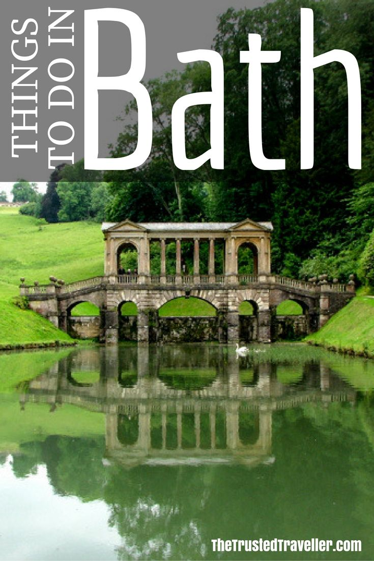 The Palladian Bridge in Prior Park, a must-see in Bath, England - Things to Do in Bath - The Trusted Traveller