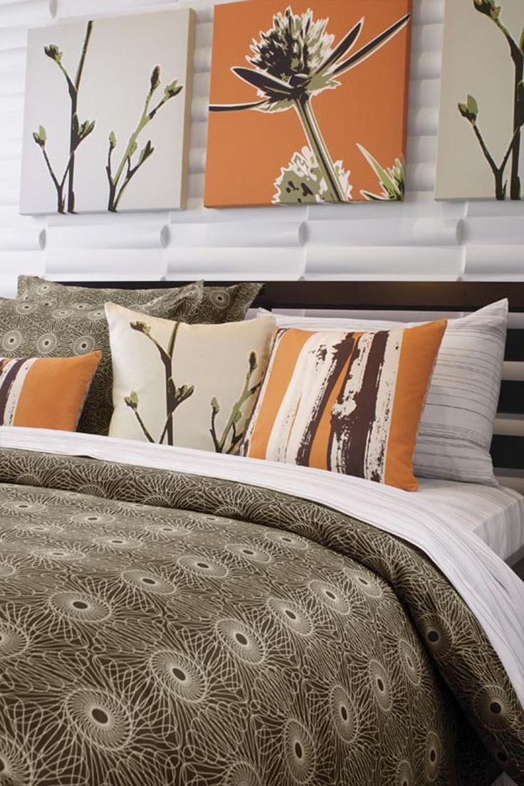 the  best images about master bdr ideas on pinterest  duvet  - inhabit rhythm cotton bedding collection in chocolate