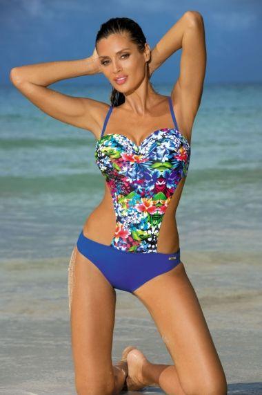 FashionUP! - Costum de baie Marko Albastru 45657-3901 - els - FEMEI, Lenjerie, Costume de baie