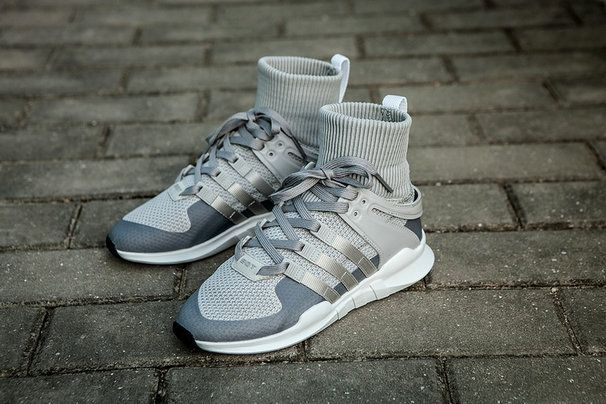 finest selection f63e9 1c2f4 Adidas EQT Support Adv Sock Medium Grey White Spring Summer 2018 Cheap  Priced Shoe