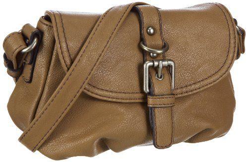 Tom Tailor Acc LISA Handtasche 11518 29, Damen Umhängetaschen, Braun (braun 29), 21x15x11 cm (B x H x T)