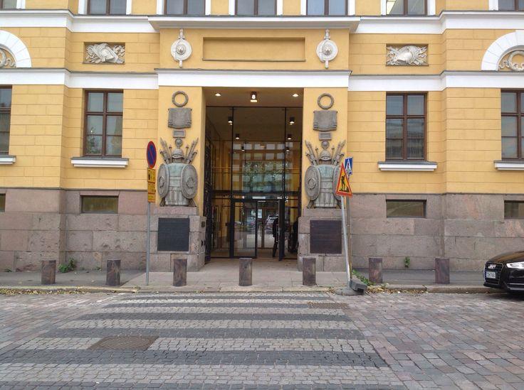 Defense ministry building, Helsinki